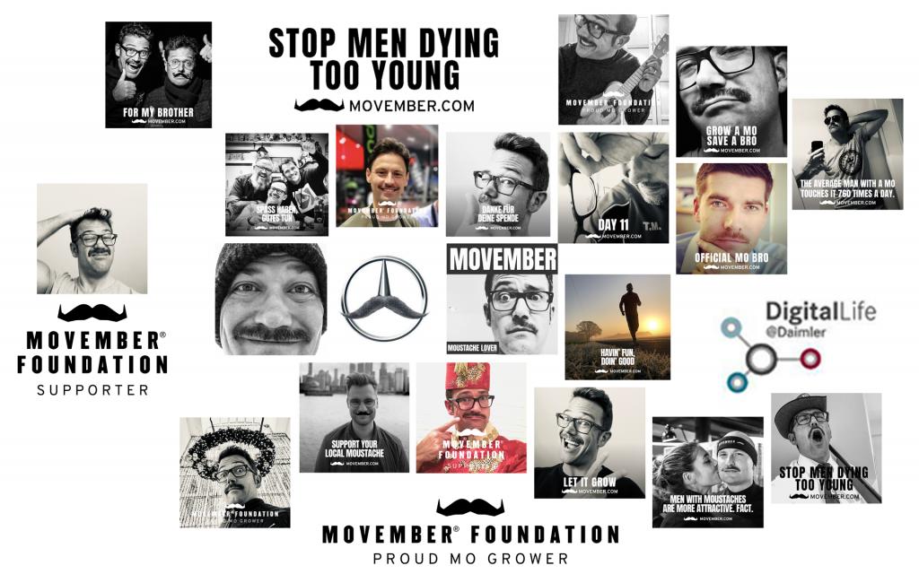 Collage mit verschieden Personen und Motiven