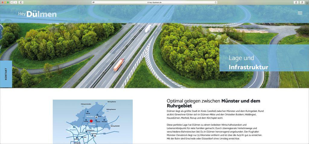 A43 Autobahnkreuz Dülmen