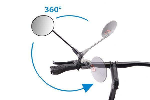 Fahrradspiegel an Lenker